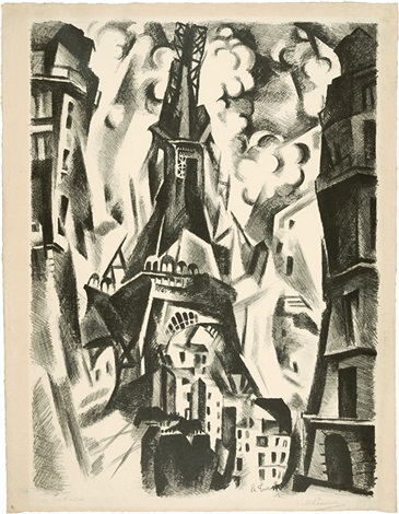 la tour by robert delaunay