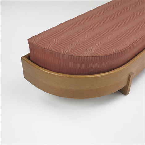 upholstered bench from wingspread racine by frank lloyd wright