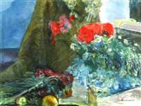 interno con fiori by alfonso avanessian