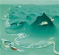 blue wave by inka essenhigh