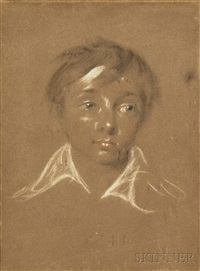 portrait sketch of a boy by thomas lawrence