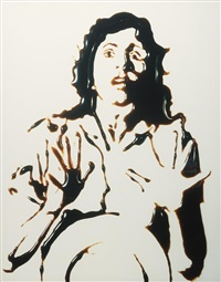 fright from pictures of chocolate by vik muniz