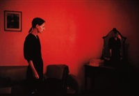 suzanne with mona lisa, mexico city by nan goldin