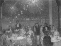 dinner and fireworks by h. ledyard towle
