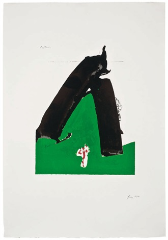 untitled the basque suite by robert motherwell