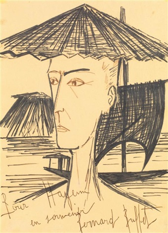 le chinois by bernard buffet