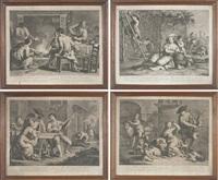 le quattro stagioni (4 works) by giovanni volpato