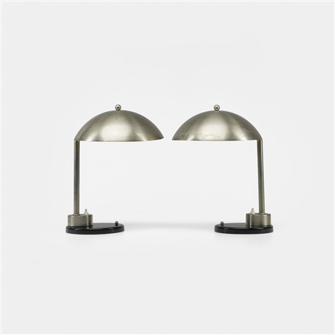 table lamps pair by kurt versen