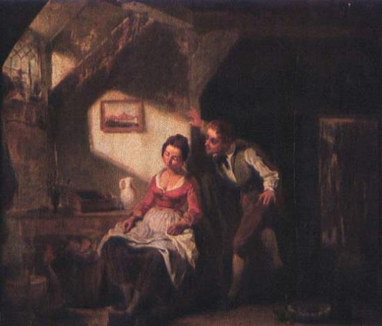 confidences jeune couple dans un intérieur by leopold fissette