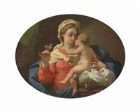 the madonna of the rose by gaetano gandolfi