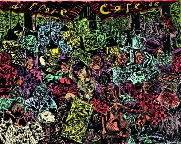Immendorff Cafe De Flore