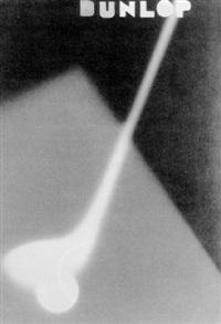 publicité pour led balles de golf dunlop by andré vigneau