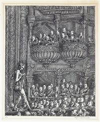 gaiety burlesk by reginald marsh