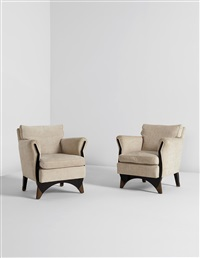 armchairs (pair) by eugene printz