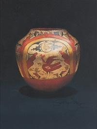 zia polychrome jar by patricia dobson