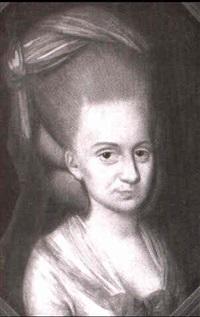 portrait einer polnischen adligen by johann p. bardou
