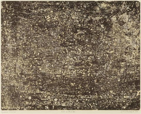 sol mitraille by jean dubuffet