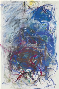 pastel by joan mitchell
