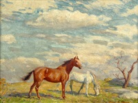in the pasture by howard everett smith