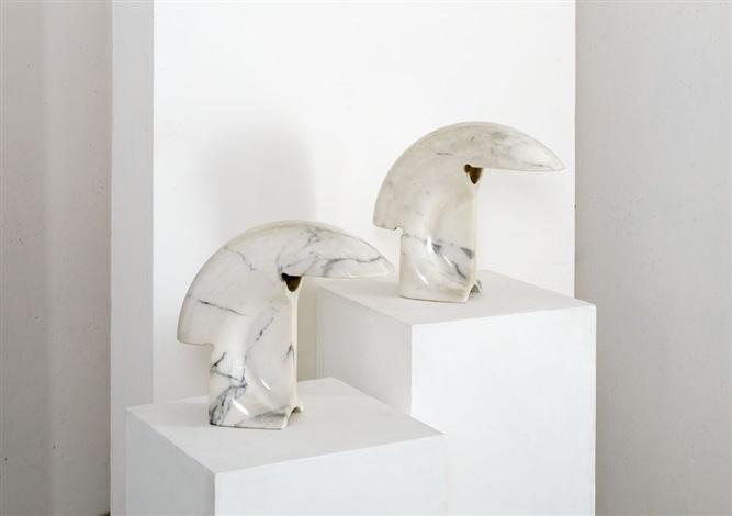 Coppia di lampade da tavolo mod. Biagio by Tobia Scarpa on artnet
