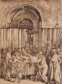 the rejection of joachim's offering by albrecht dürer