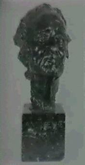 cabeza de filosofo griego by lorenzo coullant valera