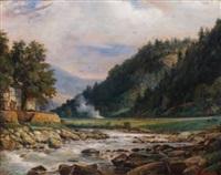 le torrent dans la vallée by françois gabriel guillaume lépaulle