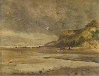 littoral de la côte normande by marcel louis sauvaige