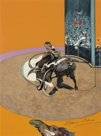 miroir de la tauromachie (bk by michel leiris w/ 4 works) by francis bacon