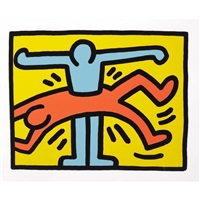pop shop vi (4) by keith haring