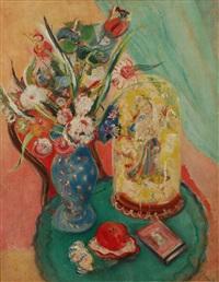 bouquet fleuri sur une table by mig quinet