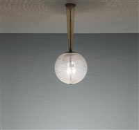ceiling light, model no. 5417 by carlo scarpa