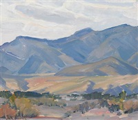 california foothills by jack lauritz