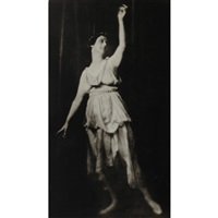 isadora duncan at metropolitan opera house by arnold genthe