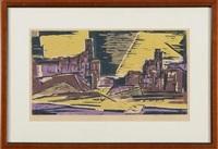 arizona evening by werner drewes