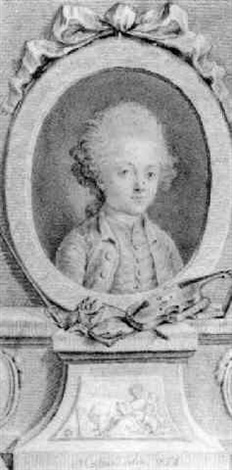 a portrait of a young musician by jean massard