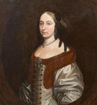 portrait présumé d'une princesse de nassau by gerrit van honthorst