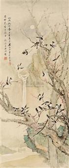 一月三十喜图 (thirty bird) by liang boyu