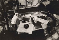 sans titre (jack kerouac at his desk) by robert frank
