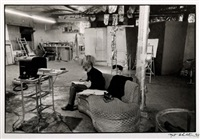 andy warhol's factory by nat finkelstein