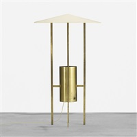 floor lamp by philip johnson and richard kelly