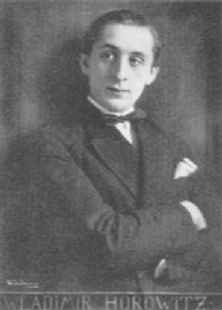 portrait of vladimir horowitz by m. duhrkoop