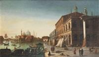 the molo with the church of santa maria della salute, venice by italian school-venetian (19)