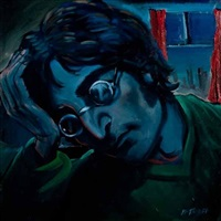 john lennon (blue john) by frank mcfadden