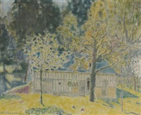 la beauvairie by frederick carl frieseke