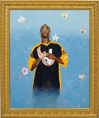 passing/posing (santus phillipus a) by kehinde wiley