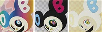 and then (set of 3) by takashi murakami