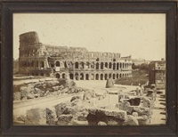 views of rome: the colosseum (+ 2 others; 3 works) by fratelli alinari