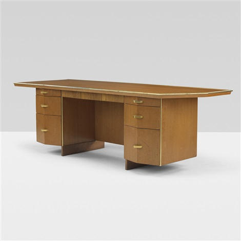 executive desk from price tower bartlesville by frank lloyd wright