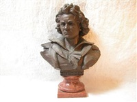 bust of beethoven by l. alegro